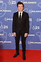 LONDON, UK. October 15, 2019: Rick Astley at the National Lottery Awards 2019, London.<br /> Picture: Steve Vas/Featureflash