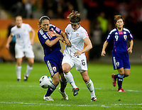 Amy Lepeilbet, Karina Maruyama.  Japan won the FIFA Women's World Cup on penalty kicks after tying the United States, 2-2, in extra time at FIFA Women's World Cup Stadium in Frankfurt Germany.