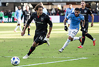 Washington, DC - October 21, 2018:  D.C. United defeated New York City FC 3-1 during a MLS game at Audi Field.
