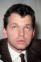 FILE PHOTO -  ALLIANCE QUEBEC Leader Royal Orr<br /> January 1989<br /> <br /> <br /> PHOTO :   Agence quebec Presse