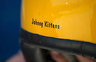 """U.S. Navy Lieutenant Commander John Hlitz '02 has the call sign """"Johnny Kittens.""""  A call sign in military aviation is as much a nickname as it is an inside joke.  When asked if there was a short story behind his call sign, Hiltz simply replied good-naturedly, """"No.""""<br /> <br /> Photo by Matt Cashore/University of Notre Dame"""