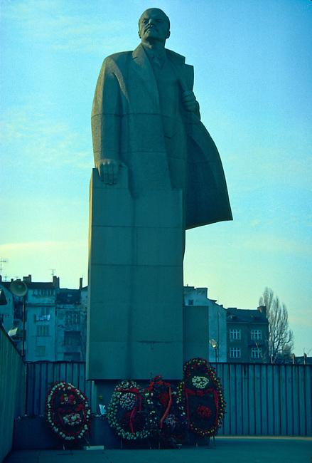 Lenin Statue, Sofia Center