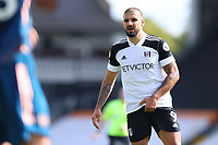 12th September 2020; Craven Cottage, London, England; English Premier League Football, Fulham versus Arsenal; Aleksandar Mitrovic of Fulham