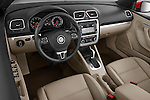 High angle dashboard view of a  2012 Volkswagen EOS Komfort