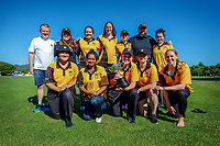 210116 Joy Lamason Trophy Cricket - Wellington Collegians 2021-21 Champions