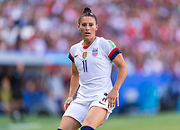 PARIS,  - JUNE 16: Ali Krieger #11 watches the ball during a game between Chile and USWNT at Parc des Princes on June 16, 2019 in Paris, France.