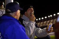 Max Papis shares a car with Elliott Forbes-Robinson but refuses to share his Fritos..39th Rolex 24 at Daytona, 3/4 February,2001 Daytona International Speedway  Daytona Beach,Florida,USA.©F.Peirce Williams 2001 ..
