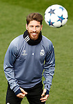 Real Madrid's Sergio Ramos during training session. February 14,2017.(ALTERPHOTOS/Acero)