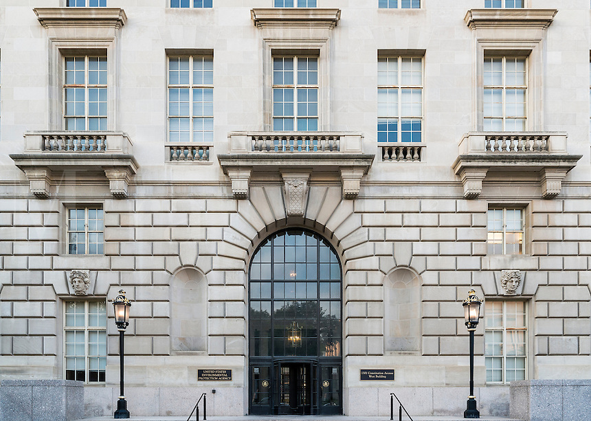 EPA building, United States Environmental Protection Agency, Washington DC, USA