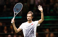 Rotterdam, The Netherlands, 14 Februari 2019, ABNAMRO World Tennis Tournament, Ahoy, Daniil Medvedev (RUS), winner,<br /> Photo: www.tennisimages.com/Henk Koster