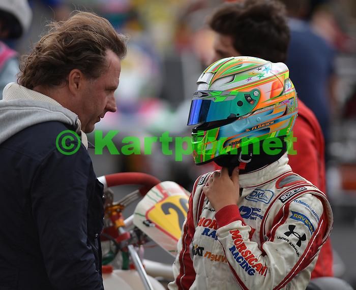 PF International, Lincolnshire, England, German racing driver Sophia Flörsch during her junior karting career.