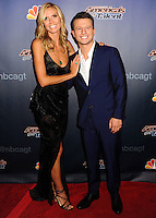 NEW YORK CITY, NY, USA - SEPTEMBER 17: Heidi Klum and Mat Franco attend the 'America's Got Talent' Season 9 Finale held at the Radio City Music Hall on September 17, 2014 in New York City, New York, United States. (Photo by Celebrity Monitor)