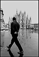 Milano, italia, piazza del Duomo