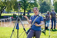 An Eventful Life Filming all riders during the Cross Country. 2021 GBR-Saracen Horse Feeds Houghton International Horse Trials. Hougton Hall. Norfolk. England. Saturday 29 May 2021. Copyright Photo: Libby Law Photography