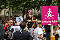 """10.08.2013 - """"UK Supports LGBT Russia Protest"""""""