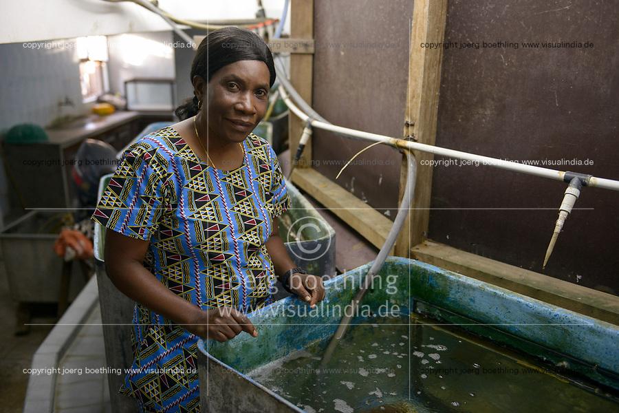 TANZANIA, Zanzibar, Stone town, Institute of Marine Sciences, Dr. Flower Msuya, scientist and chairperson of Zanzibar Seaweed Cluster Initiative (ZaSCI)