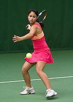 05-12-10, Tennis, Almere, Reaal WJC Masters, Nadine Gobin