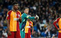 Galatasaray's Fernando Muslera reacts during UEFA Champions League match, groups between Real Madrid and Galatasaray SK at Santiago Bernabeu Stadium in Madrid, Spain. November, Wednesday 06, 2019.(ALTERPHOTOS/Manu R.B.)<br /> Champions League 2019/2020  <br /> Real Madrid - Galatasaray<br /> Foto Alterphotos / Insidefoto <br /> ITALY ONLY