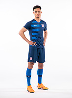 Raleigh, NC - March 20, 2018: USMNT Photoshoot