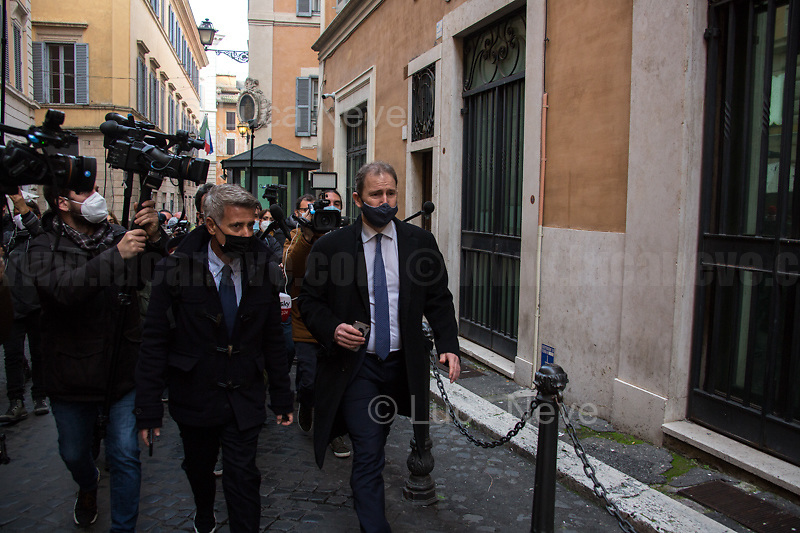Davide Casaleggio (Son of co-founder of the Five Star Movement, Gianroberto Casaleggio, and President of Casaleggio Associati).<br />