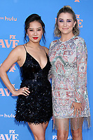 """LOS ANGELES - JUN 10:  Christine Ko and Taylor Misiak at the """"Dave"""" Season Two Premiere Screening at the Greek Theater on June 10, 2021 in Los Angeles, CA"""