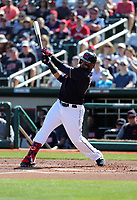 Carlos Santana - Cleveland Indians 2019 spring training (Bill Mitchell)