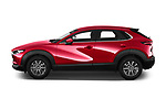 Car driver side profile view of a 2020 Mazda CX 30 Skydrive-Lux 5 Door SUV