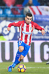 Angel Correa of Atletico de Madrid in action during their La Liga match between Atletico de Madrid and Deportivo Leganes at the Vicente Calderón Stadium on 04 February 2017 in Madrid, Spain. Photo by Diego Gonzalez Souto / Power Sport Images