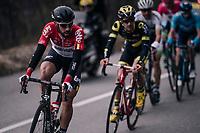 Thomas de Gendt (BEL/Lotto-Soudal)<br /> <br /> 76th Paris-Nice 2018<br /> stage 6: Sisteron > Vence (198km)