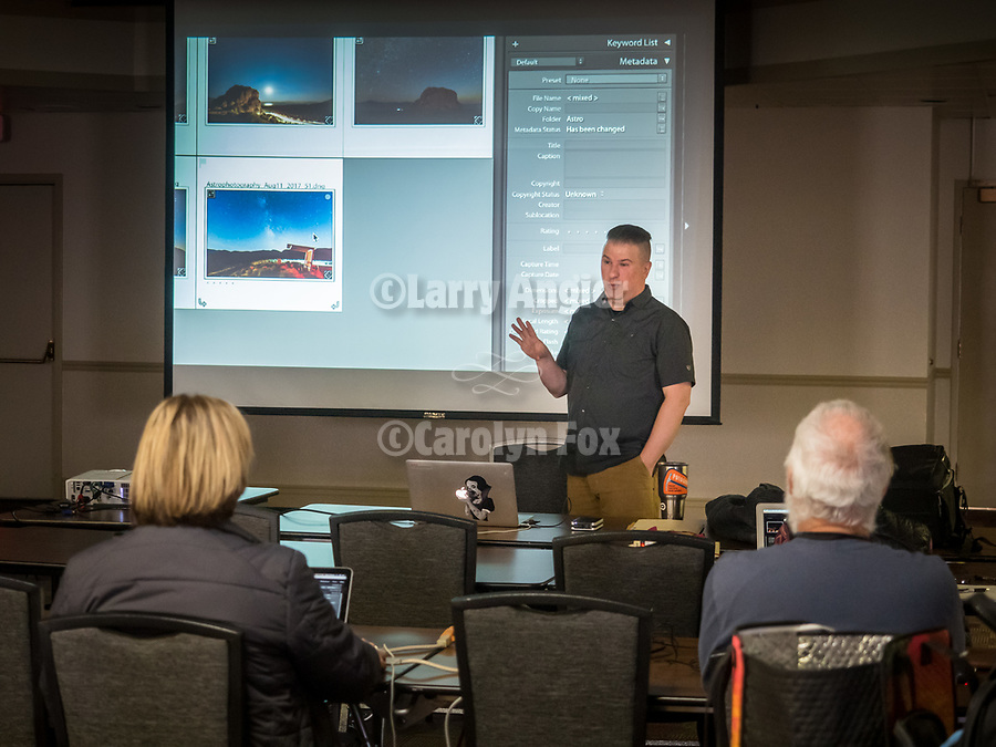 Adobe Lightroom 101 with M.D. Welch—Workshops and hands' on classes at STW XXXI, Winnemucca, Nevada, April 9, 2019.<br /> .<br /> .<br /> .<br /> .<br /> @shootingthewest, @winnemuccanevada, #ShootingTheWest, @winnemuccaconventioncenter, #WinnemuccaNevada, #STWXXXI, #NevadaPhotographyExperience, #WCVA