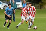 NELSON, NEW ZEALAND June 22: Div 1 Football, Sprig & Fern Tahuna v F C Nelson, Tahunanui, Nelson, June 22, 2019, (Photos by Barry Whitnall/Shuttersport Limited)