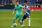 28th June 2020; RCDE Stadium, Barcelona, Catalonia, Spain; La Liga Football, Real Club Deportiu Espanyol de Barcelona versus Real Madrid; Picture show Kroos and R.D.T