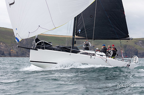 In her first regatta, Richard and Mike Evans new J/99 Snapshot, Winner Class 1 IRC and Overall winner of the Sovereigns Cup