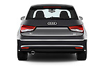 Straight rear view of 2016 Audi A1 Sport 3 Door Hatchback Rear View  stock images