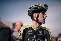 Mikel Nieve (ESP/Michelton-Scott) post-finish<br /> <br /> 104th Liège - Bastogne - Liège 2018 (1.UWT)<br /> 1 Day Race: Liège - Ans (258km)