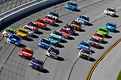 Monster Energy NASCAR Cup Series<br /> GEICO 500<br /> Talladega Superspeedway, Talladega, AL USA<br /> Sunday 7 May 2017<br /> Denny Hamlin, Joe Gibbs Racing, FedEx Express Toyota Camry<br /> World Copyright: Nigel Kinrade<br /> LAT Images<br /> ref: Digital Image 17TAL1nk06364