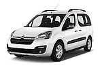2016 Citroen BERLINGO-MULTISPACE XTR+ 5 Door Mini MPV Angular Front stock photos of front three quarter view