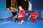 Julia King. Women's Pool B match between New Zealand and Japan, Oi Hockey Stadium, Tokyo, Japan, Monday 26 July 2021. <br /> Photo: AlishaLovrich/HockeyNZ/www.bwmedia.co.nz