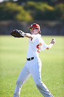 Noah Frasca (49), from Saint James, New York, while playing for the Nationals during the Under Armour Baseball Factory Recruiting Classic at Gene Autry Park on December 27, 2017 in Mesa, Arizona. (Zachary Lucy/Four Seam Images)