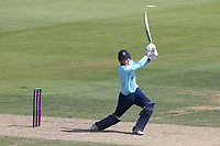 Michael Pepper hits 4 runs for Essex during Hampshire Hawks vs Essex Eagles, Royal London One-Day Cup Cricket at The Ageas Bowl on 22nd July 2021