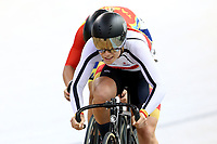 Natasha Hansen and Shanne Fulton compete in the Women Elite Sprint  during the 2020 Vantage Elite and U19 Track Cycling National Championships at the Avantidrome in Cambridge, New Zealand on Friday, 24 January 2020. ( Mandatory Photo Credit: Dianne Manson )