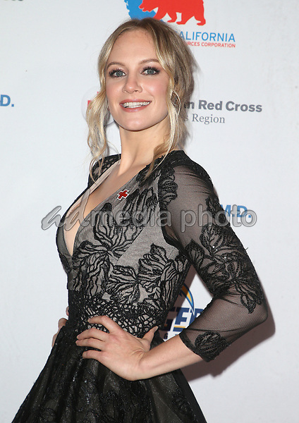 09 March 2018 - Los Angeles, California - Danielle Savre. American Red Cross Annual Humanitarian Celebration Honoring The LA Chargers at the Skirball Cultural Center. Photo Credit: F. Sadou/AdMedia