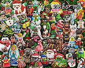 Lori, CHRISTMAS SANTA, SNOWMAN, WEIHNACHTSMÄNNER, SCHNEEMÄNNER, PAPÁ NOEL, MUÑECOS DE NIEVE, paintings+++++Christmas Cookies3_with shadows_72,USLS150,#x#