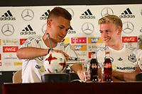 Joshua Kimmich (Deutschland, Germany), Julian Brandt (Deutschland Germany) bei der Pressekonferenz - 16.06.2017: Pressekonferenz der Deutschen Nationalmannschaft, Radisson BLU Hotel Sotschi