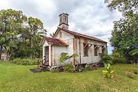 Historic Pohakupuka Congregational Church, Papaikou, Big Island.