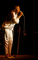 July 1st, 1985 File Photo -Martine Chevrier <br /> perform at Canada Day Concert in Montreal's Old-Port