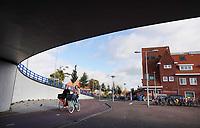 Nederland  Amsterdam-  2020.   Amsterdam Noord Mosplein. Volewijck. Tunnel onder de Johan van Hasseltweg.    Foto : ANP/ HH / Berlinda van Dam