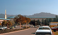 F.L. Wright: Marin Civic Center. Panorama--S. Wing.  Photo '83.