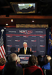 Republican presidential candidate Newt Gingrich speaks to about 200 supporters during a campaign stop in Reno, Nev., on Wednesday, Feb. 1, 2012..Photo by Cathleen Allison