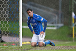 St Johnstone v Kilmarnock.....28.02.15<br /> Brian Graham reacts after another chance is missed<br /> Picture by Graeme Hart.<br /> Copyright Perthshire Picture Agency<br /> Tel: 01738 623350  Mobile: 07990 594431
